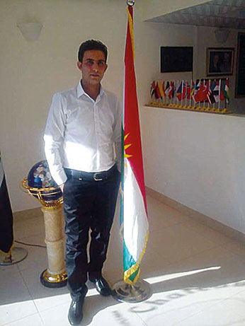 Shirawan als Hotel-Manager in Syrien